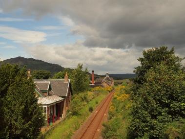 Balblair distillery railway