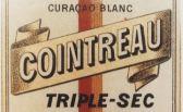 Cointreau triple sec