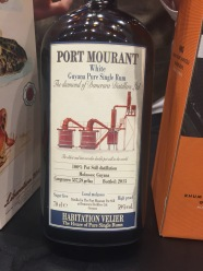 Port Mourant white rum 2015.jpg