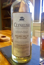 clynelish distillery only bottling