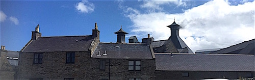 Distillery chimneys