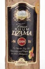 Dzama 1998 Rhum Vieux Ob. 45%.png