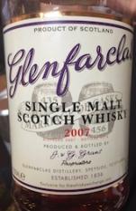 Glenfarclas 2007 TWE