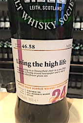 Glenlossie 1992 24yo SMWS 46.58 'Living the high life' [282 bts] 53.2%.JPG