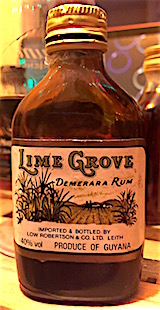 Lime Grove Demerara rum guyana.JPG