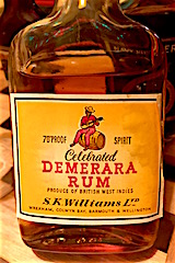 S. K. Williams Demerara rum
