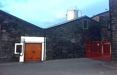 Distillery entrance