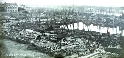 The outer harbour, built by James Bremner