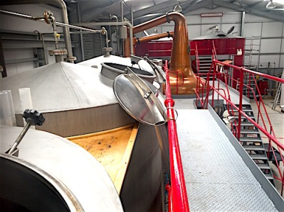 Wolfburn Washbacks and stills