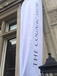 Cognac Show entrance banner reduced