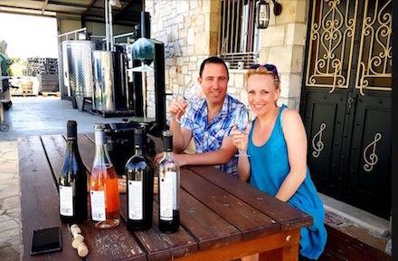 Grampsas winery in Zakynthos