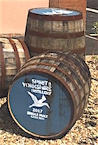 Spirit of yorkshire casks