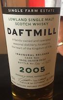 Daftmill 2005 Inagural