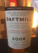 Daftmill 2006 summer batch release.jpg