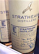 Strathearn 2013 French Oak