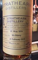 Strathearn 2014:2018 Sherry cask.jpg
