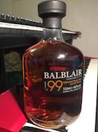 Balblair 1999 1st release