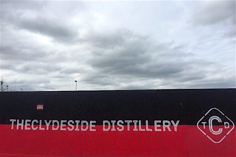 Clydesdale distillery banner