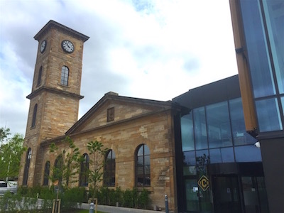 Clydesdale distillery tower