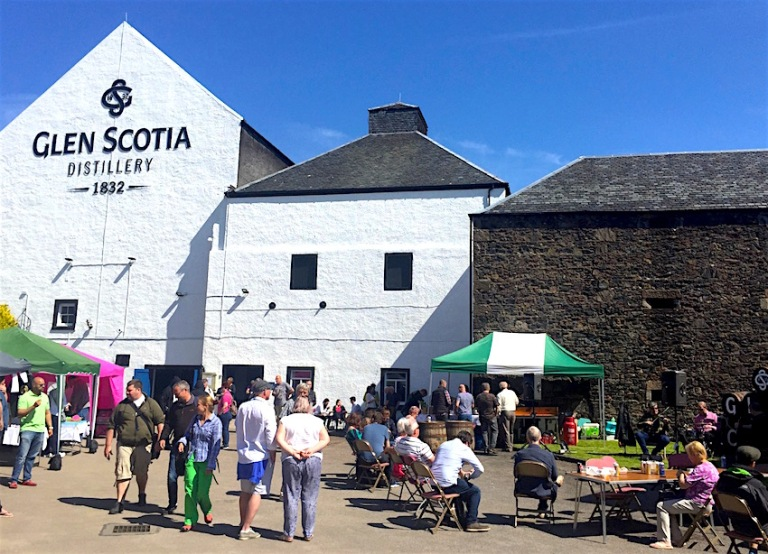 Glen Scotia distillery Open Day