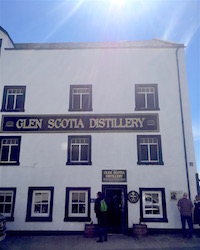 Glen Scotia distillery SHOP