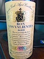 Ron Los Valientes 2007 20yo [btl #1247] 43% [50cl].jpg