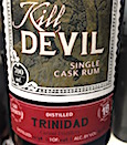 Caroni 1998 18yo HL Kill Devil [246 bts] 65.5%