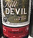 Caroni 1998 18yo HL Kill Devil [246 bts] 65.5%