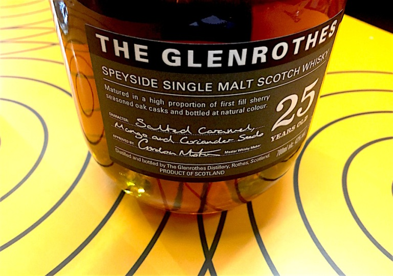 Glenrothes 25yo [2018] Ob. The Soleo Collection 43%