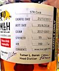 Milk & Honey 2017:2018 8:9 month old spirit Ob. STR cask #2017-0357 55% [50cl]
