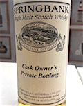 Springbank 1993 14yo Cask Owner's Private ex-bourbon cask CS abv unknown.jpg