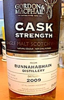 Bunnahabhain 2009 GM CS casks 326 327 329.jpg