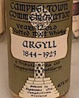 Campbeltown Commemoration 1844-1923 Argyll 12yo Eaglesome 40%.jpeg