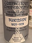 Campbeltown Commemoration 1844-1923 Burnside 12yo [1985] Eaglesome 40%.jpeg