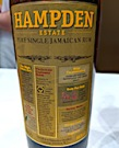 hampden pure single jamaican rum [2018] 46%