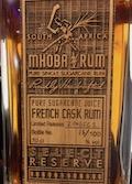 Mhoba French Cask Rum [2018] Ob. Limited release 2018FC1 [btl #16:100] 65%.jpeg