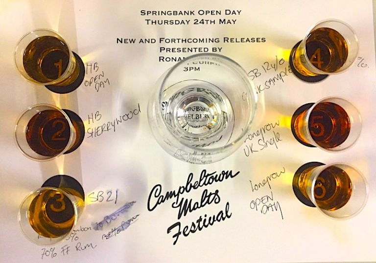 springbank new and forthcoming flight placemat