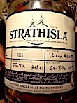 strathisla 15yo distillery only batch #2 55.9%