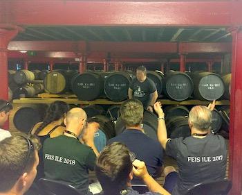 Caol Ila warehouse host