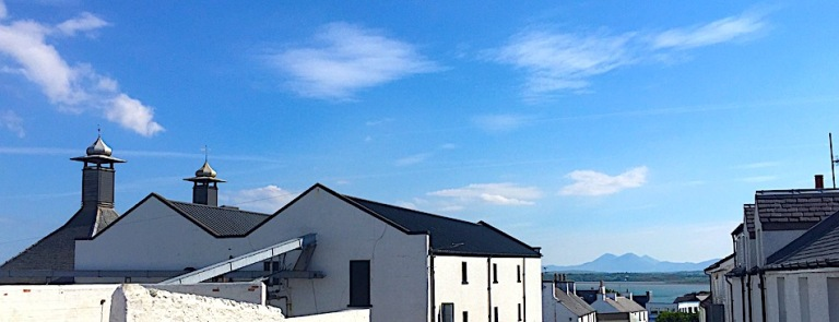 Bowmore and the mountains.jpeg