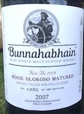 Bunnahabhain 2007:2018 10yo Ob. Feis Ile 2018 [btl #1382:1881] 59.5%.jpeg