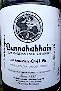 Bunnahabhain American Craft Ale [2018] Un-Ob. Hand-filled exclusive 50.5%.jpeg