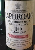 Laphroaig CS 10yo Ob. Original release Red Stripe 55.7%.jpeg