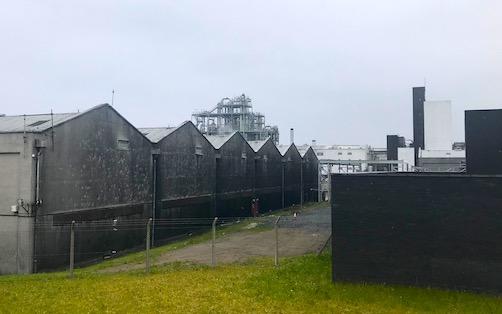 girvan distillery and warehouses