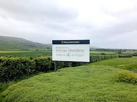 Girvan distillery SIGN