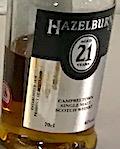 Hazelburn 21yo Festival bottling 2019 Ob. Refill sherry [222 bts] 46%.jpeg