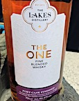 The Lakes 'The One' Fine blended whisky [2019] Ob. First Edition Port cask finished 46.6%.jpeg