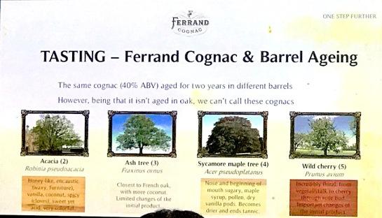Ferrand Barrel ageing