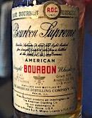 American Distilling Company Rare Bourbon Supreme Ob. 86 proof:43% .jpeg
