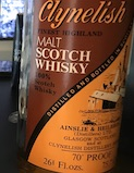 [Brora] Clynelish 12yo Ob.:Ainslie & Heibron G&M 70 proof [75.7cl.jpeg